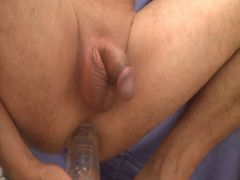 playing with my dildo 1