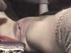 Fucked and slow motion cum shot